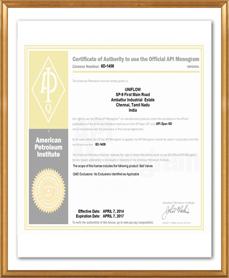 certificates certificate api uniflow